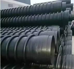 联塑HDPE高密度聚乙烯缠绕结构壁增强管